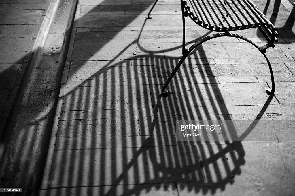 Poetic Bench : Stock Photo