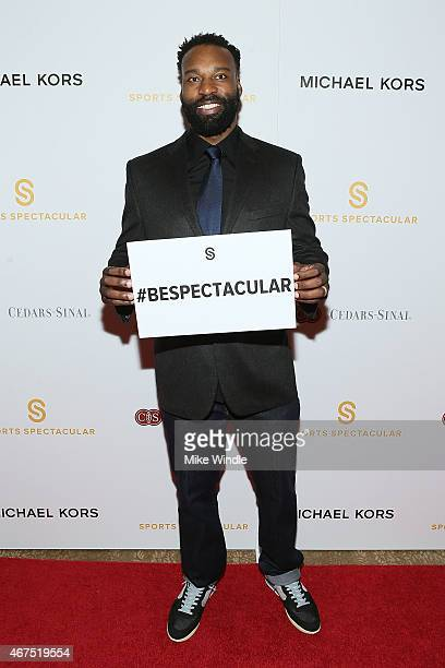 NBA point guard Baron Davis attends the Sports Spectacular Luncheon Benefiting CedarsSinai at The Beverly Hilton Hotel on March 25 2015 in Beverly...