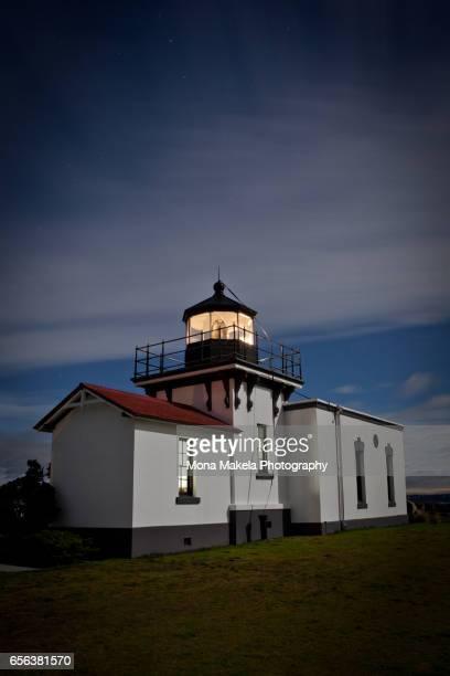 Point no Point Lighthouse in Hansville, Washington