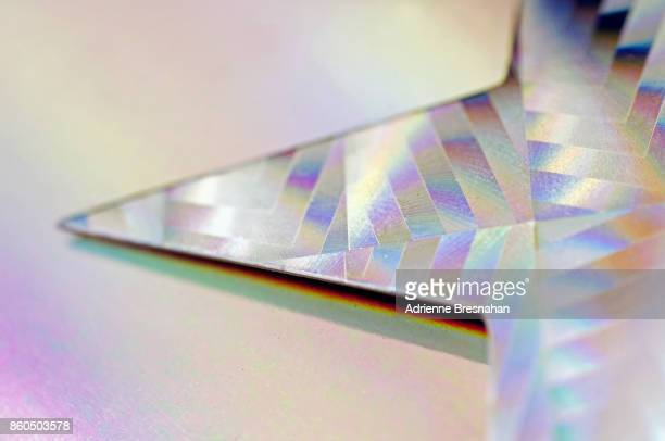 Point of Holographic Paper Star