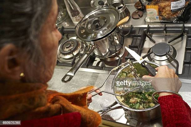 Point of view of preparing meal at home