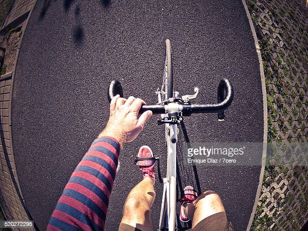 Point of view on a Fixie