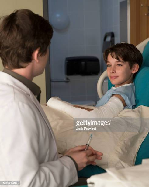 DOCTOR 'Point Three Percent' While in the exam area of St Bonaventure Hospital Dr Shaun Murphy encounters a young patient who looks eerily similar to...