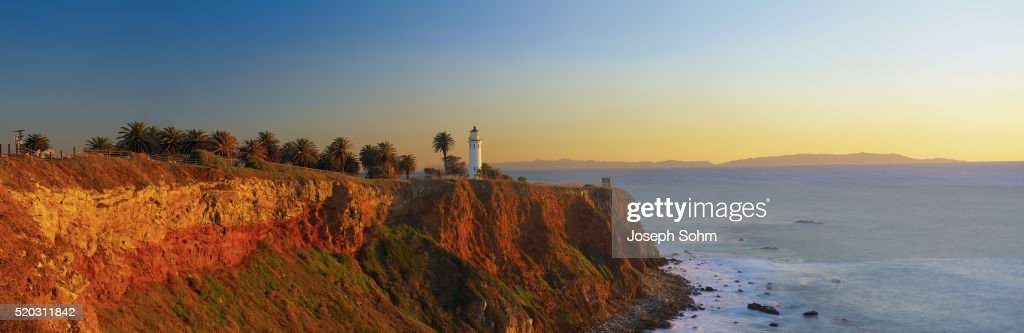 Point Vicente Lighthouse Overlooking San Pedro Bay