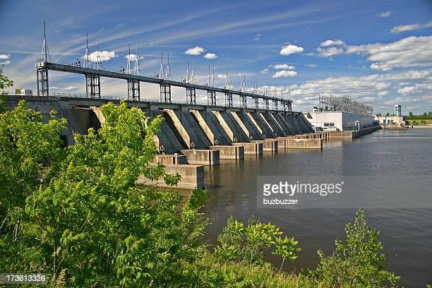 Pointe-Fortune Hydro Electric Dam