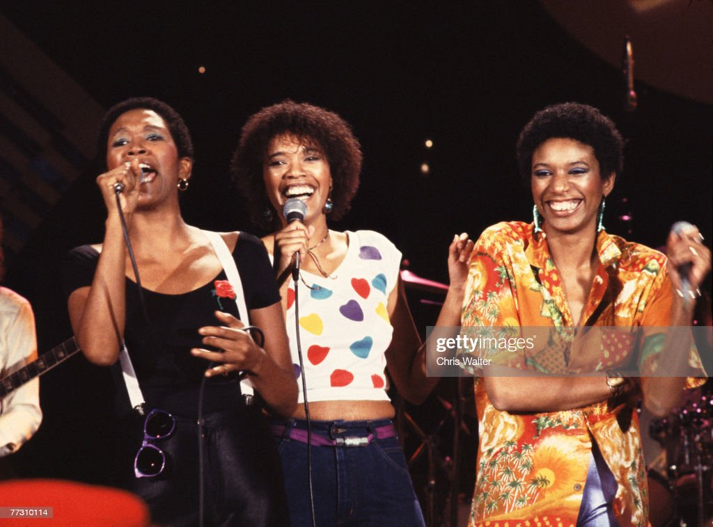 Pointer Sisters 1980 Ruth Pointer JunePointer and Anita Pointer