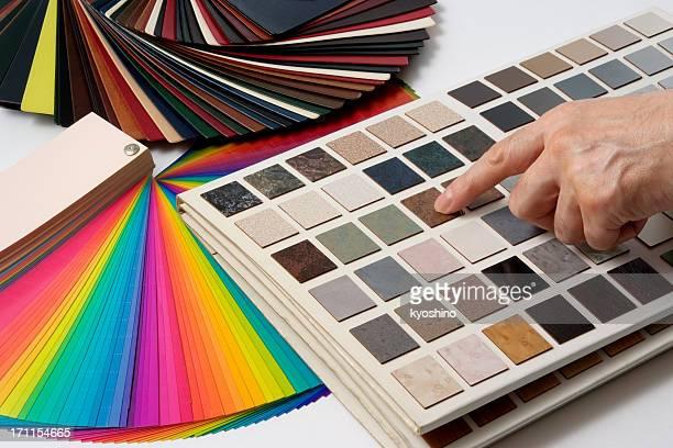 Farbe Führer Proben und Dekorieren