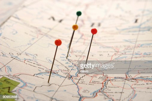 Points on a Map