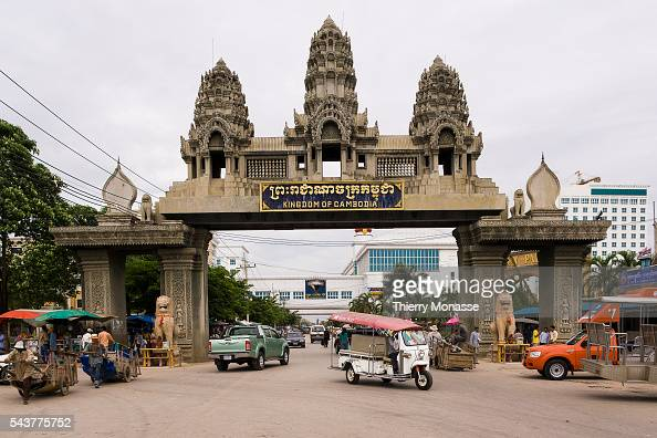 Banteay Meanchey Cambodia  city photos : Poipet Aranyaprathet Banteay Meanchey Cambodia August 5 2007 The ...