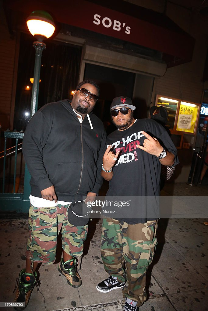 Poison Pen and Craig G attend at SOB's on June 18, 2013 in New York City.