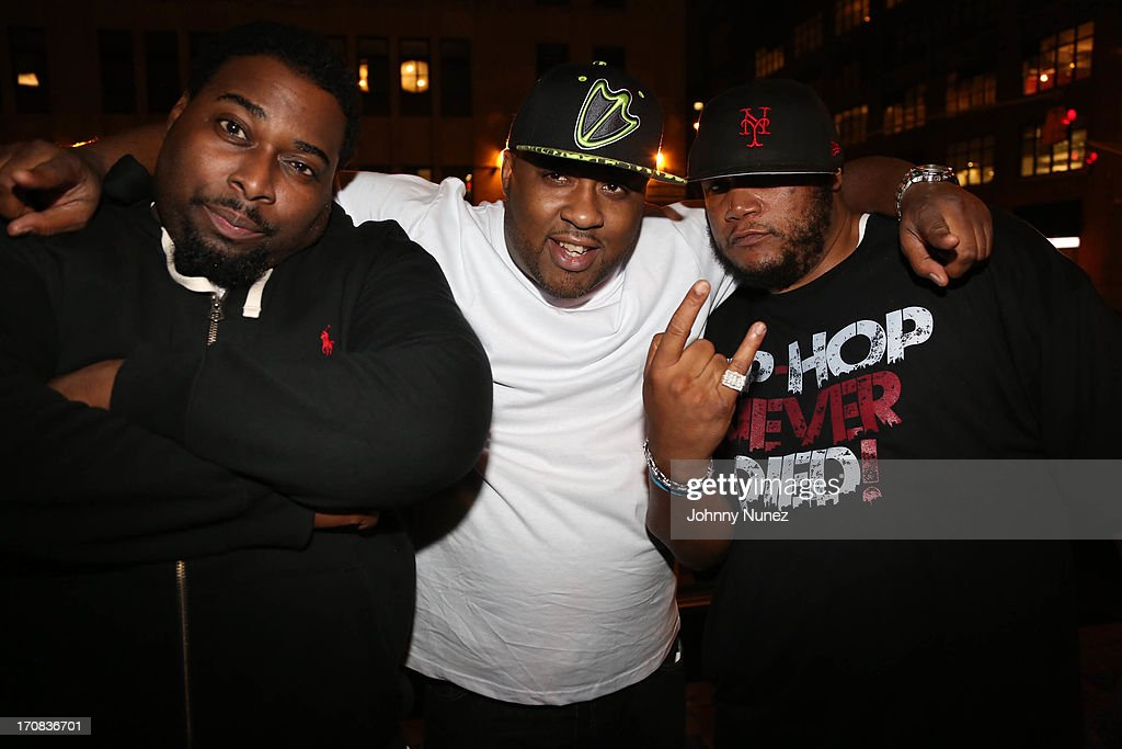 Poison Pen, Royal Flush and Craig G attend at SOB's on June 18, 2013 in New York City.