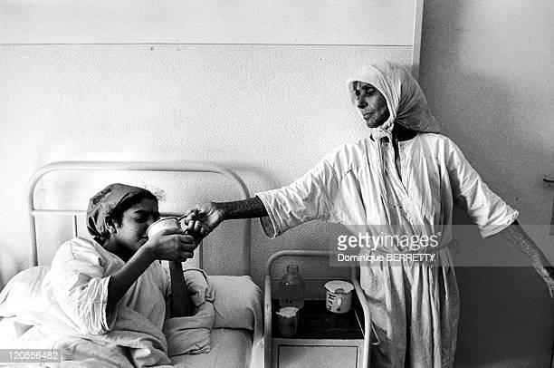 Poisoning in Meknes Morocco in 1960 Medical care to the victims of a poisoning in a Moroccan hospital The first symptoms of paralysia appeared in...