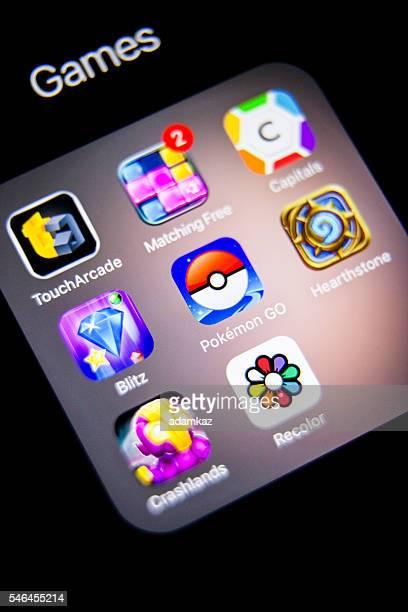 Pokemon Go App Icon on iPhone