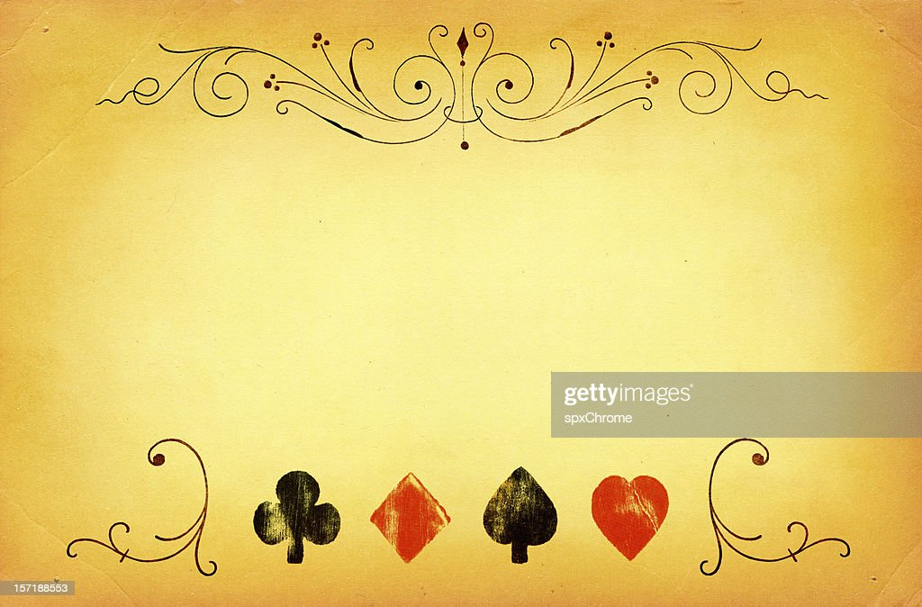 Poker Background : Stock Photo