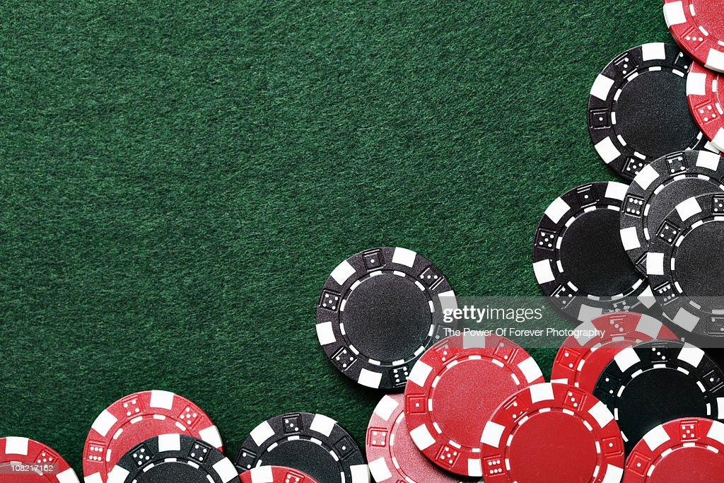 Poker Chip Background Stock Photo | Getty Images