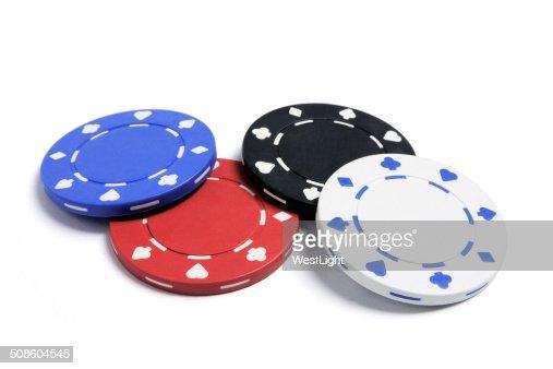Poker Chips : Stock Photo
