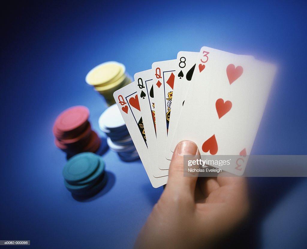 Poker Games : Stock Photo