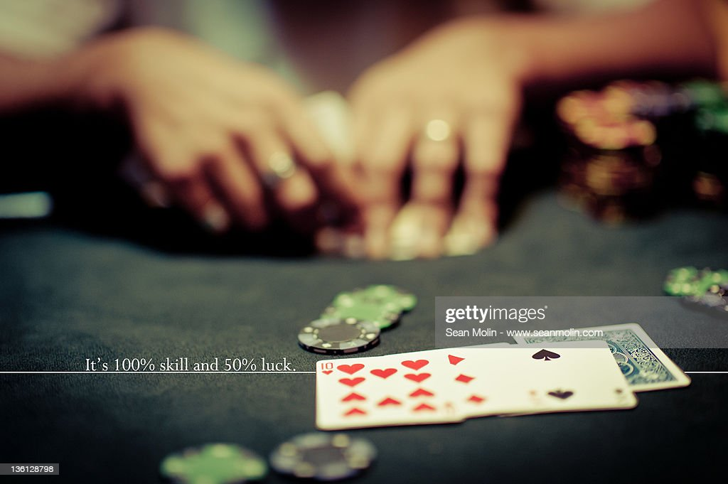 Poker Table : Stock Photo