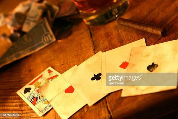 Poker l'Ouest américain.