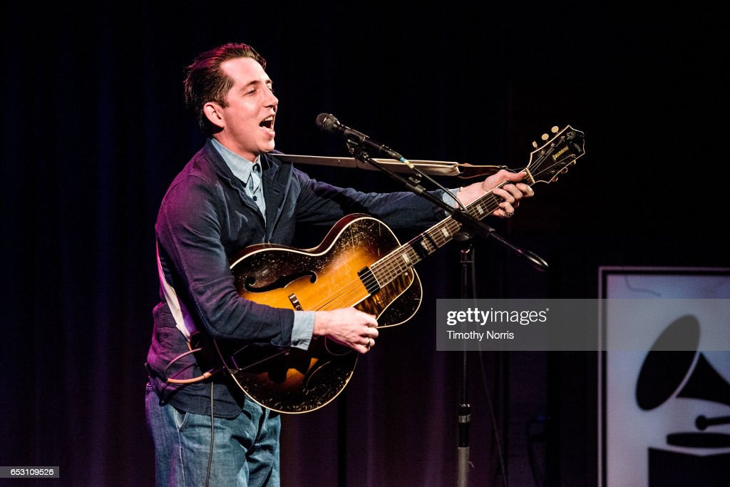 Pokey LaFarge performs during The Music Behind 'Sun Records' at The GRAMMY Museum on March 13, 2017 in Los Angeles, California.