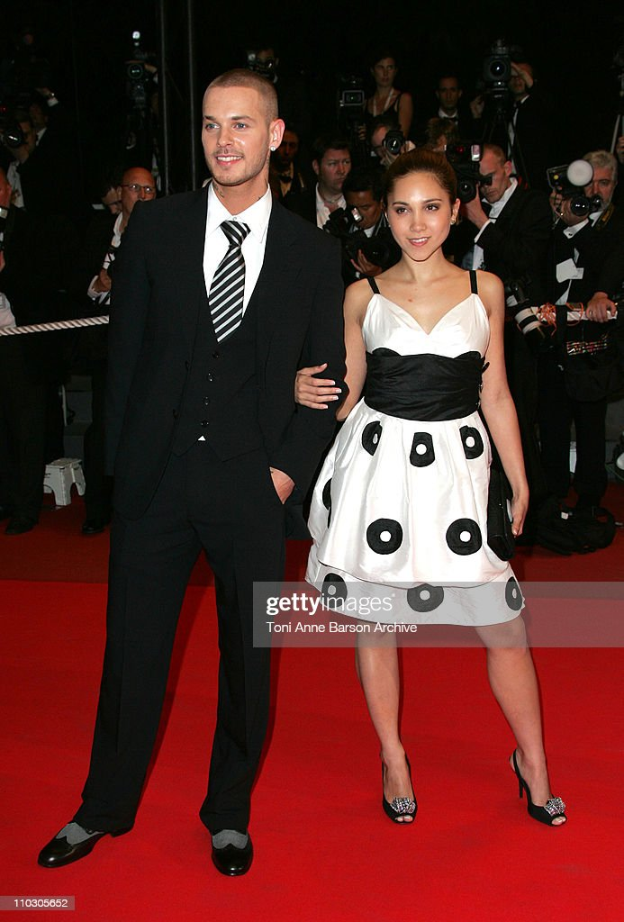 M. Pokora and Leslie during 2007 Cannes Film Festival - 'Death Proof' Premiere at Palais des Festival in Cannes, France.