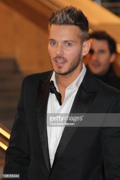 M Pokora attends the NRJ Music Awards 2011 on January 22 2011 in Cannes France