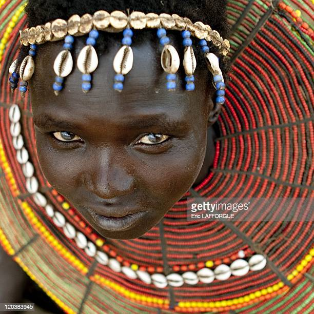 Pokot girl in Kenya on July 17 2009 The Pokot live in the Baringo district and in the Western Pokot district in Kenya There are two main subgroups...