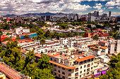 Polanco landscape in Mexico City
