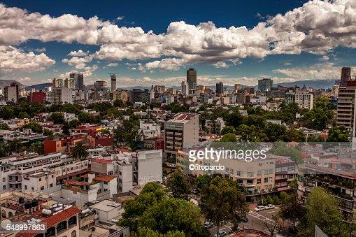 Polanco & Mexico City skyline