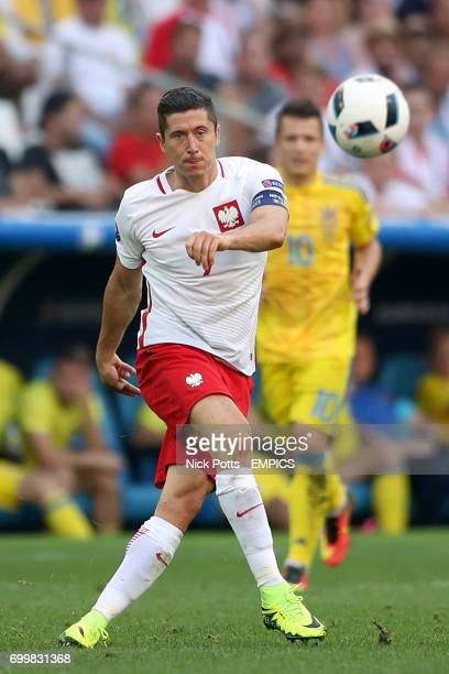 Poland's Robert Lewandowski