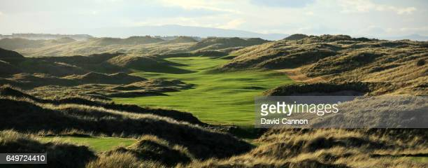 Polarising filter used and a small time lapse camera pole removed behind the green A view of the new 572 yards par 5 seventh hole designed by Martin...