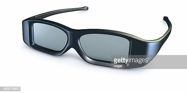 Polarisierte 3D-Brille.