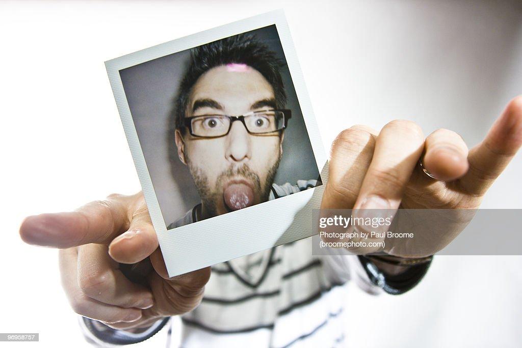 Polaroid Raspberry
