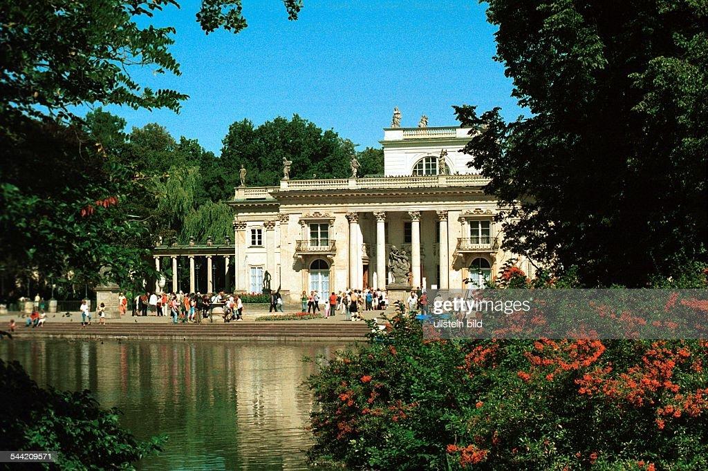 Warschau Lazienki Park Pictures Getty Images