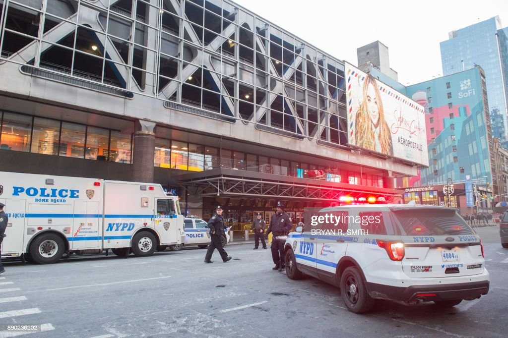 Terror Suspect Explodes Bomb At NY's Port Authority Bus Terminal