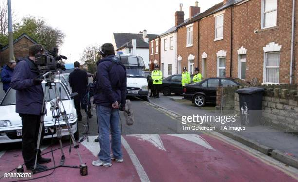 Police and the media stand outside number 44 St James Street Gloucester the home of suspected al Qaida operative Sajid Badat Neighbours described the...