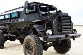 Police armored vehiche