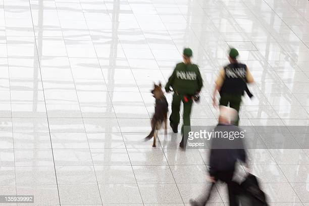 police at the airport