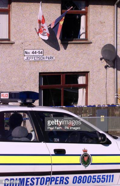 Police at the scene of the latest shooting in Ulster which left Charlene Daly aged 11 in intensive care at Coleraine hospital She was shot shot in...