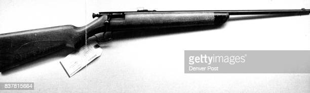 Police Believe This Gun Killed Druggist This 22caliber Stevens single shot bolt action weapon model 15A is the weapon believed used in the slaying of...