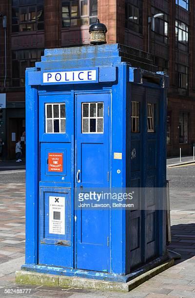 Police box, Merchant City, Glasgow