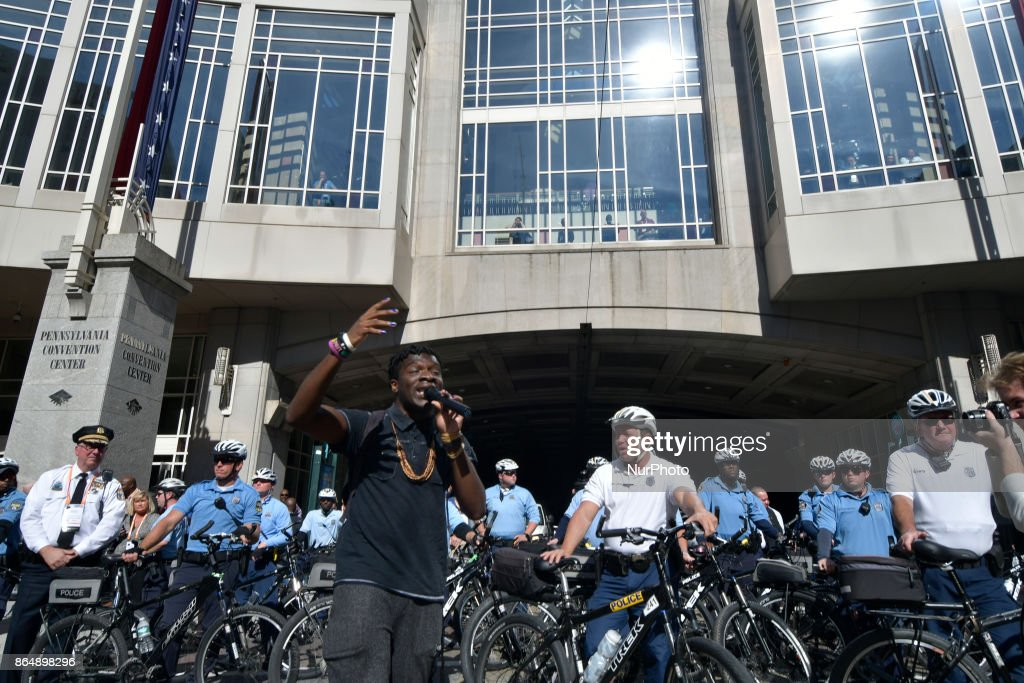 Violent protest outside IACP conference in Philadelphia