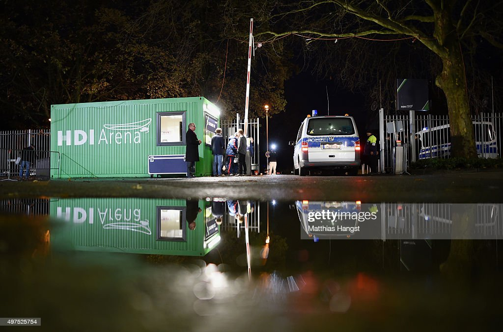 http://media.gettyimages.com/photos/police-car-leaves-the-area-of-the-hdi-arena-prior-to-the-friendly-picture-id497525754