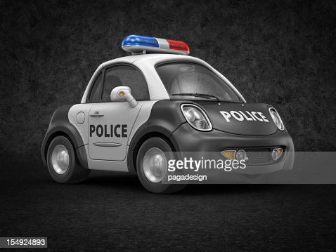 police car : Stock Photo