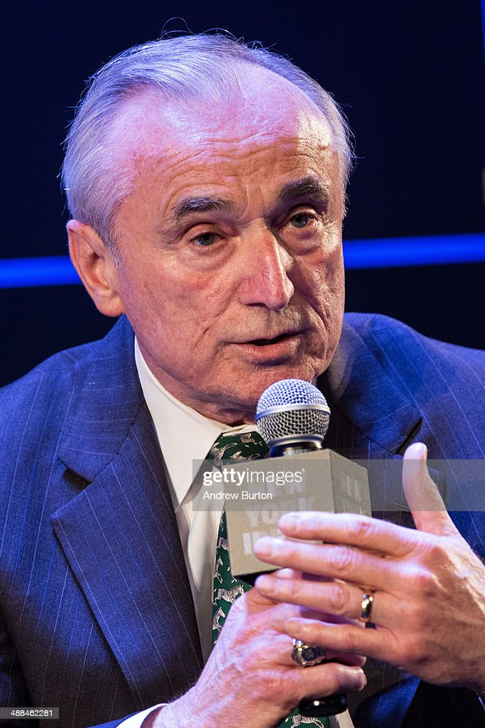 Police Commissioner of New York City Bill Bratton speaks at New York Ideas on May 6, 2014 in New York City. New York Ideas is a conference that brings together leaders from a variety of industries, hosted by The Atlantic, The Aspen Institute and New-York Historical Society.
