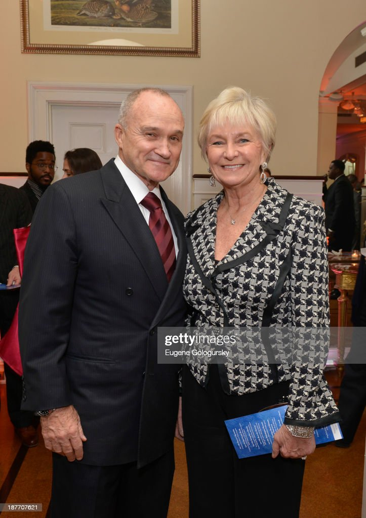 Police Commissioner Raymond Kelly and Veronica Kelly attend the The East Harlem School 2013 Fall Benefit Honoring Susan And Alan Patricof on November 11, 2013 in New York City.