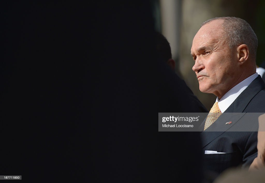 Police Commissioner Raymond Kelly takes part in the 94th annual New York City Veterans Day Parade on 5th Avenue on November 11, 2013 in New York City. The parade is the largest of its kind in the country and this year is especially dedicated to women serving in the armed forces.