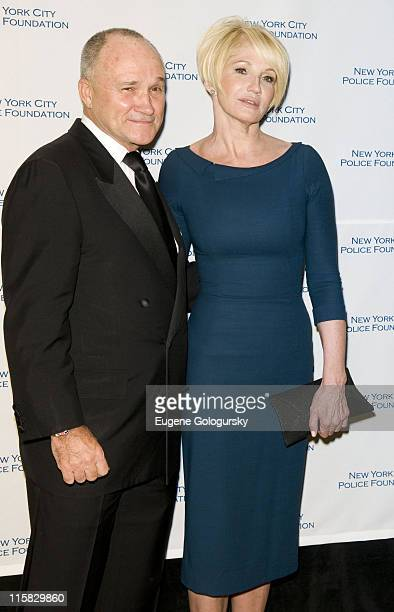 Police Commissioner Raymond W Kelly and Ellen Barkin attend The 30th Annual New York City Police Foundation Gala March 11 2008 at the Waldorf Astoria...