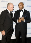Police Commissioner Raymond W Kelly and Tiki Barber attend The 30th Annual New York City Police Foundation Gala March 11 2008 at the Waldorf Astoria...
