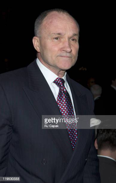 NYC Police Commissioner Raymond W Kelly during Jerry Orbach Memorial Celebration at Richard Rogers Theatre in New York City New York United States